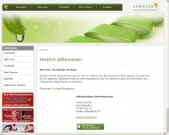 Website Aloe Vera Vitalzentrum