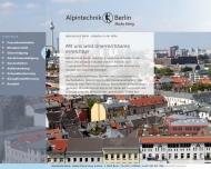 Bild Webseite Alpintechnik Berlin Berlin