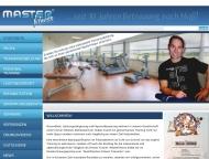 Website MASTERFITNESS - Schule für Erwachsenenbildung