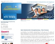Bild Dach-Solartechnik & Energieberatung - Peter Siemens DDM