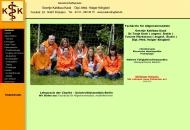Bild Webseite  Potsdam