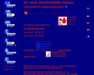 Arztpraxis Dr. Astrid Kublik-L?bken, Fach?rztin f?r Allgemeinmedizin, Gr?pelinger Heerstr. 371, 2823...