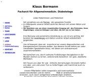 Website Bormann Klaus Facharzt f. Allgem.Med.