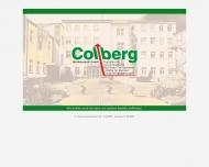 Bild Webseite Colberg-Werbetechnik Leipzig