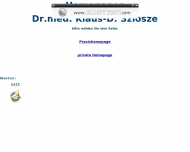 Bild Szlosze K.-D. Dr.med. Facharzt für Allgemeinmedizin