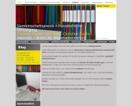 Bild Webseite Fuchs Thomas Internist , Christine Dr.med. prakt. Ärztin München