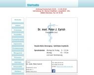 Bild Webseite Eyrich Peter Dr.med. München
