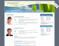 Website Staudt Markus Dr. Zahnarzt u. Staudt Beatrice Dr. Prakt. Ärztin