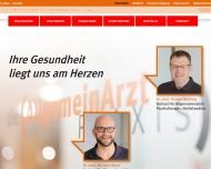 Bild Webseite Bretting Thomas Dr.med. Allgemeinarzt Psychotherapie , Havel Michael Dr.med. Allgemeinarzt Chirotherapie Nürnberg
