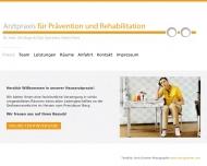 Arztpraxis f?r Pr?vention und Rehabilitation - Praxis