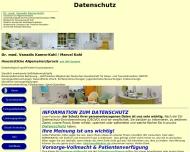 Website Kamm-Kohl V. Dr.med.