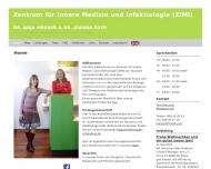 Bild Webseite Meurer Anja Dr. Ärztin München