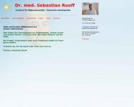 Bild Ruoff Sebastian Dr. Facharzt für Allgemeinmedizin