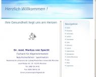 Bild Webseite Specht Markus von Dr.med. Allgemeinarzt München