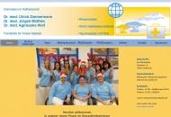 Bild Webseite Zimmermann Ulrich Dr. med. , Matthes Jürgen Dr. med. Fachärzte für Innere Medizin Heilbronn