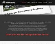 Bild Webseite miramarketing München
