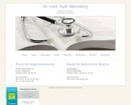 Dr. med. Ruth Weissberg - Start