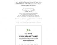 Allgemeinmedizin - Dr. med. V. Zegenhagen