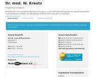 Bild Kreutz Wolfram Dr.med. Allgemeinmedizin Praktischer Arzt