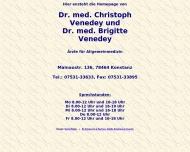 Bild Webseite Venedey Christoph Dr. , Brigitte Dr.med. Prakt. Ärzte Konstanz