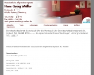 Bild Webseite Müller Hans-Georg Praktischer Arzt Spiesen-Elversberg
