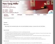Website Müller Hans-Georg Praktischer Arzt