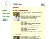 Website Vermaasen W. Dr. med. Allgem. Medizin / Akupunktur