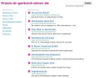 Bild Webseite Oliver Michelle Praxis f. Allgemeinmedizin Nürnberg