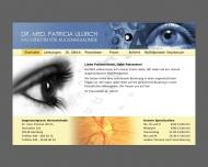 Bild Webseite Augenarzt Hamburg Harvestehude - Dr. med. Patricia Ullrich Hamburg