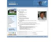 Bild Webseite Dr. med. Friedrich Flohr Hamburg