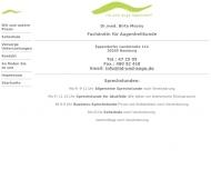 Bild Webseite Mosny Birte Dr.med. Augenärztin Hamburg