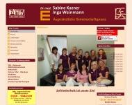 Bild Dr. med. Sabine Kazner und Inga Weinmann - Augenärztliche ...