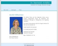Bild Baerwald-Schäfer Claudia Dr.med. Chirurgin / Plastische Chirurgin