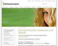 Bild Heuermann Max Dr.med.dent Zahnarztpraxis Master of Science lmplantologie