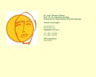 Bild Webseite Fottner Michael Dr.med. München
