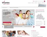 Bild Webseite Vivantes MVZ Prenzlauer Berg Fachärzte für Kinderchirurgie Berlin