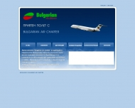 Bild Webseite Bulgarian Air Charter Hamburg
