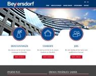 Bild Webseite Beyersdorf Dienstleistungen Flensburg