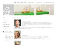 Website Bode Claus Dr.med. Kinderarzt