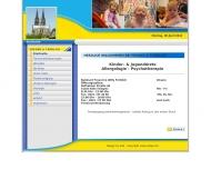 Bild Webseite Wilhelm Fröhlich Köln