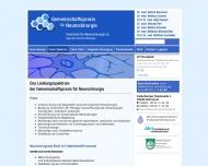 Website Baumann Helmut Dr.med. , Cramer Wolfram Dr.med. , Penkert Götz Prof. Dr.med. u. Winkelmüller Wolfhard Prof. Dr.med. Ärzte für Neurochirurgie