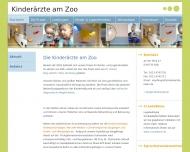 Bild Webseite Willkommen bei den Kinderärzten am Zoo — Kinderaerzte am Zoo ... Köln