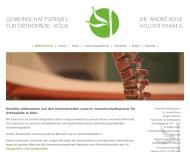 Bild Rose Andre Dr. med. u. Kraneis Holger Ärzte für Orthopädie