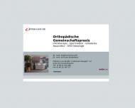 Bild Schorradt Siegfried Dr.med. , Biederbeck K.U. Dr.med. Fachärzte für Orthopädie