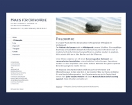 Website Heilmann Johannes Dr.med. , Frobenius Klaus Dr.med. Orthopädische Gemeinschaftspraxis