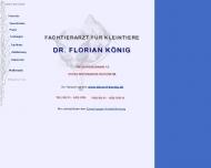 Bild Tierarzt in Wiesbaden Dotzheim Dr. Florian König - Fachtierarzt für ...