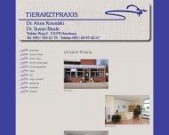 Website Kowalski Anne Dr. u. Baule Susan Dr. Tierärzte