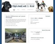 Bild Webseite Krol J. Dipl.med.vet. Nürnberg
