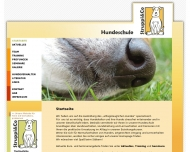 Bild Webseite Ges.für Tierverhaltensmedizin und -therapie - GTVMT Hamburg