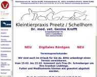 Bild Webseite Krefft Gesine Dr. Kleintierpraxis Postfeld